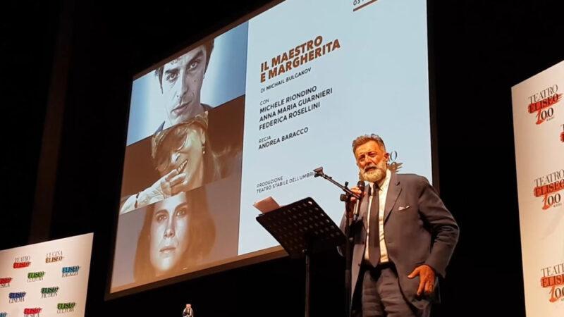 Luca Barbareschi presentazione Eliseo 2018-19 (foto Ivan Zingariello)