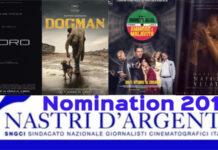 Nastri d'Argento 2018 - nomination