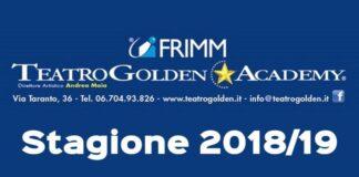 Teatro Golden Stagione 2018/19