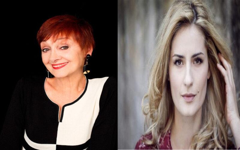 Milena Vukotic e Lidiya Liberman