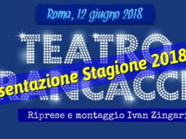 Teatro Brancaccio - presentazione Stagione 2018/19