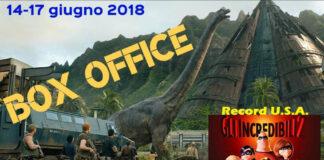 Box Office 18-06-18 - Jurassic World Il regno distrutto