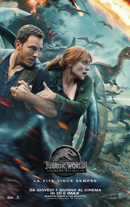 Jurassic World - Il regno distrutto locandina