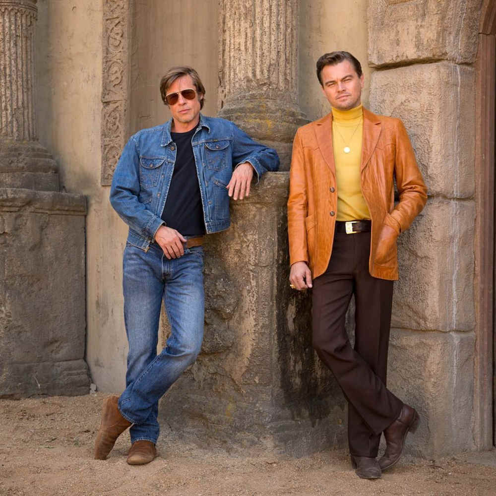 Leonardo DiCaprio e Brad Pitt in Once Upon a Time in Hollywood