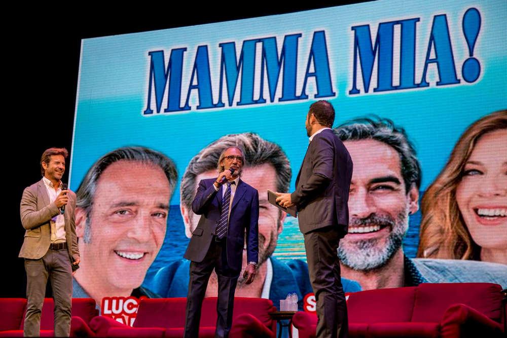 Presentazione Sistina 2018-19 - Paolo Conticini, Luca Ward (Mamma mia!)