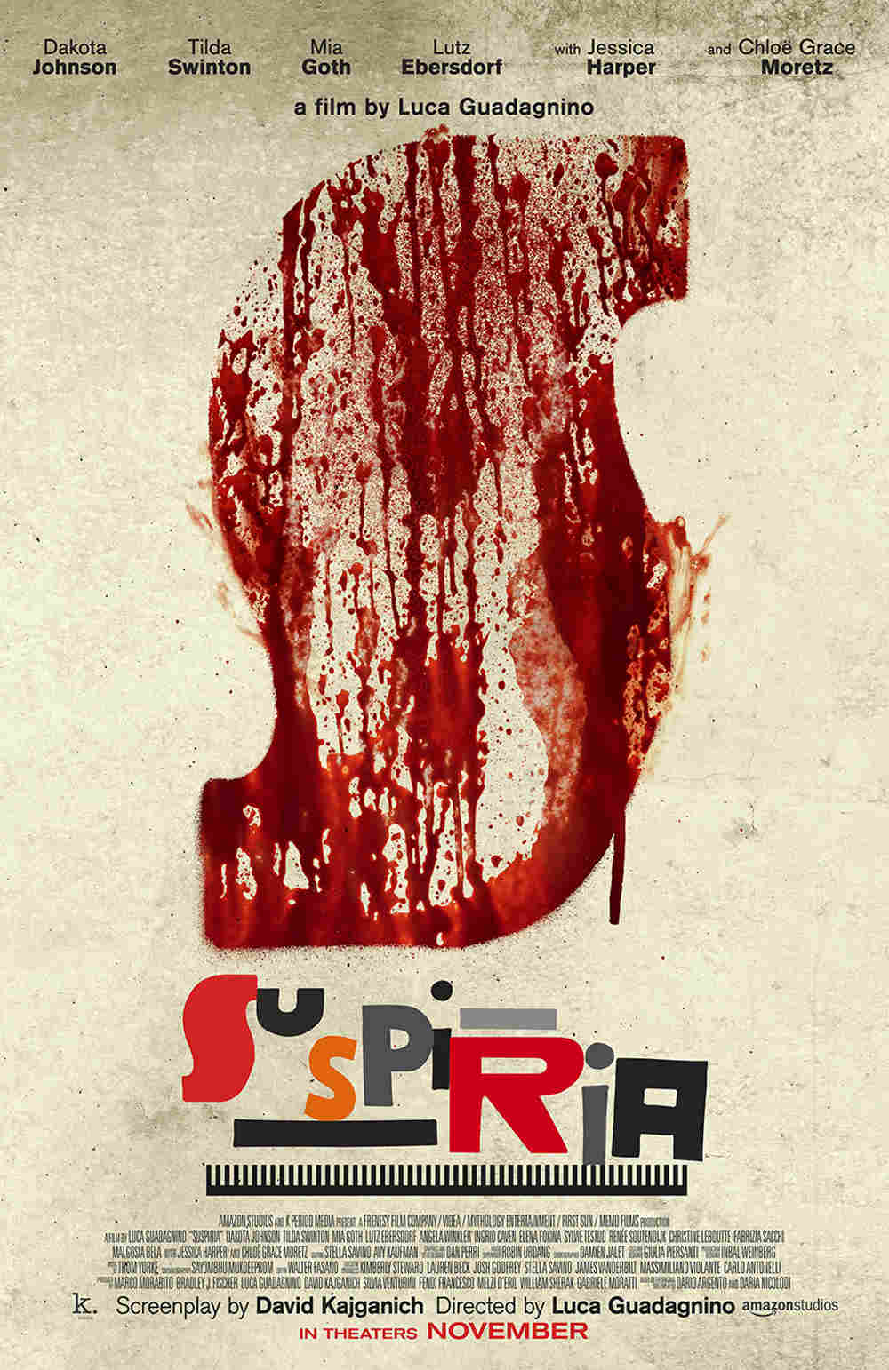 Suspiria - poster remake