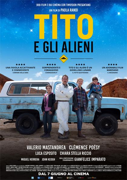 Tito e gli alieni locandina
