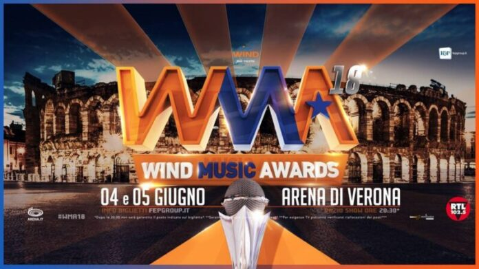 Wind Music Awards - copertina