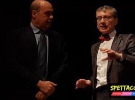 Nicola Zingaretti e Antonio Calbi - Presentazione Stagione 2018/19 Teatro di Roma (foto Ivan Zingariello)