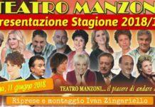 Teatro Manzoni - presentazione Stagione 2018/19