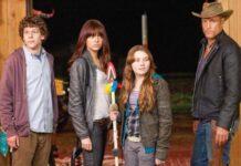 Benvenuti a Zombieland - Jesse Eisenberg, Emma Stone, Abigail Bresling e Woody Harrelson