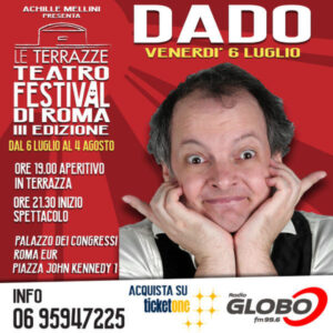 Dado - Le Terrazze Teatro Festival 2018