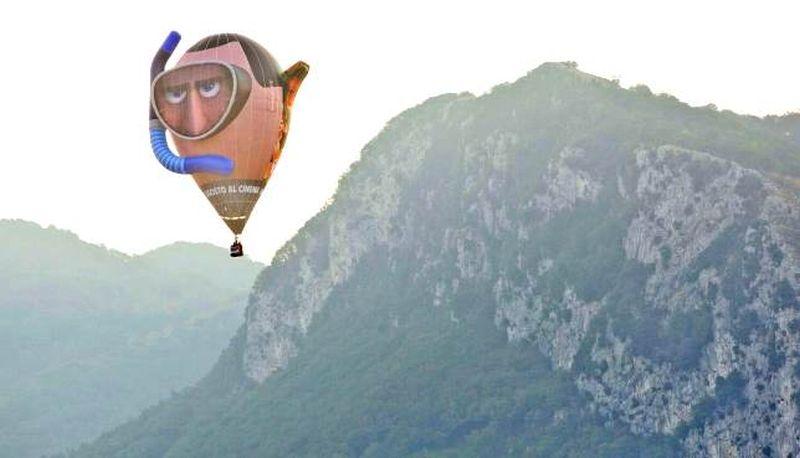 Hotel Transylvania 3: la mongolfiera di Drac sorvola a sorpresa il Giffoni Film Festival
