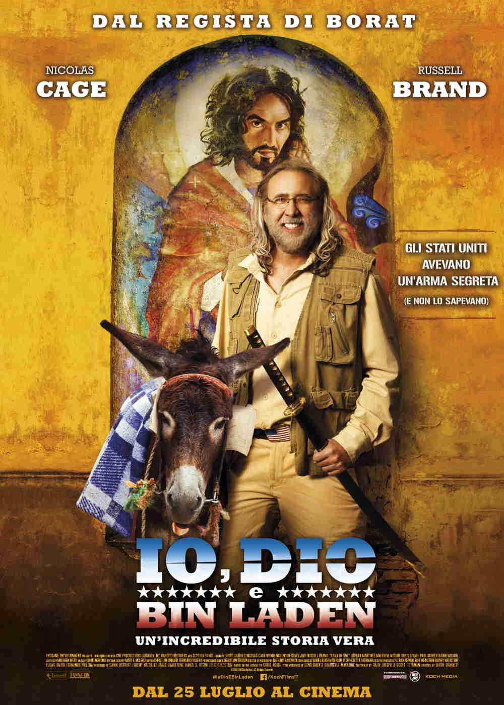 Io Dio e Bin Laden - Poster Ufficiale Italiano