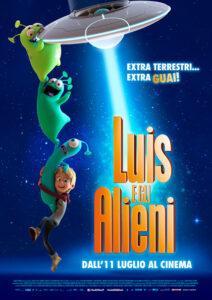 Luis e gli alieni locandina