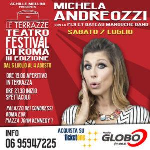 Michela Andreozzi - Le Terrazze Teatro Festival 2018