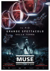 Muse Drones World Tour locandina