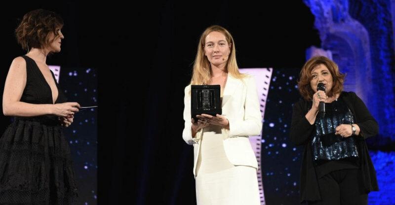 Nastri d'Argento 2018 - Nome di donna - Cristiana Capotondi (al centro) (ansa)