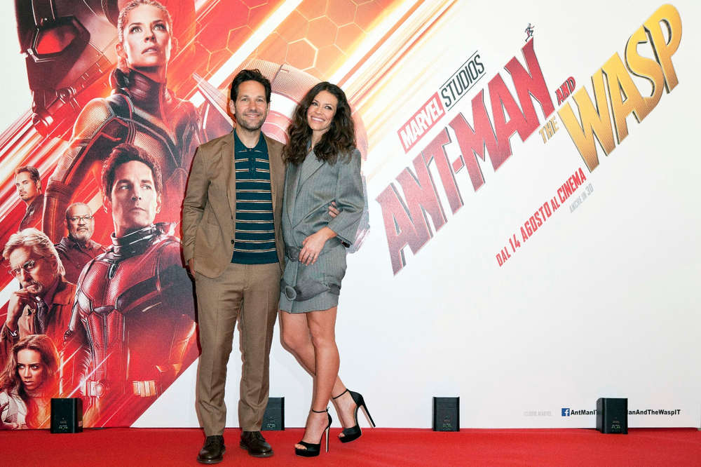 Paul Rudd ed Evangeline Lilly - photocall Ant-Man and The Wasp 2