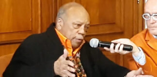 Quincy Jones - conferenza stampa Roma