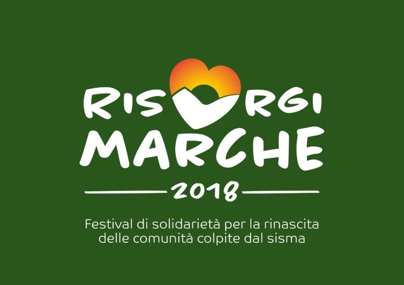 RisorgiMarche 2018 logo