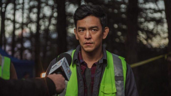 John Cho in una scena del film Searching