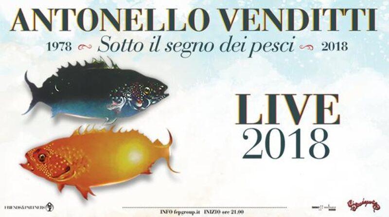 Sotto il segno dei pesci Venditti Locandina