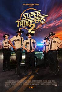 Super Troopers 2 locandina eng