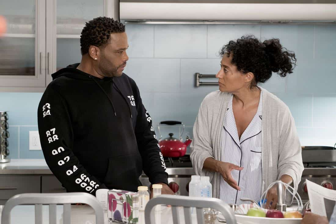 Anthony Anderson e Tracee Ellis Ross in Black-ish