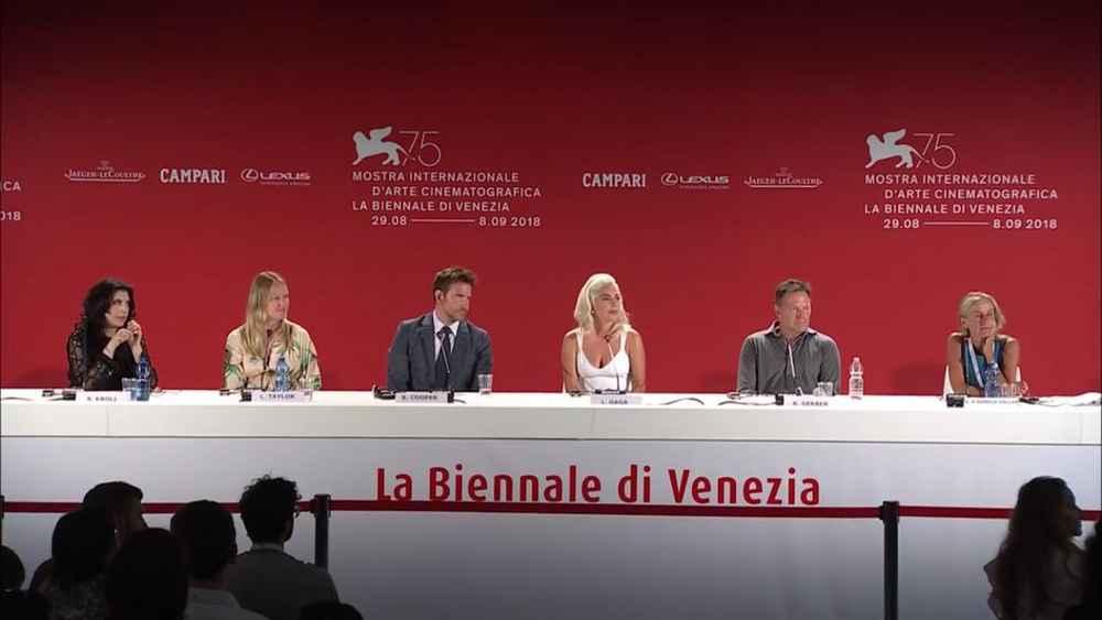 Conferenza stampa A Star is Born