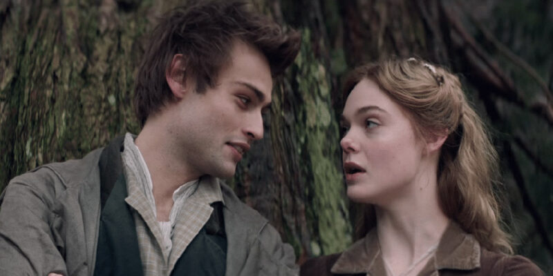 Mary Shelley - Douglas Booth (Percy) ed Elle Fanning (Mary)