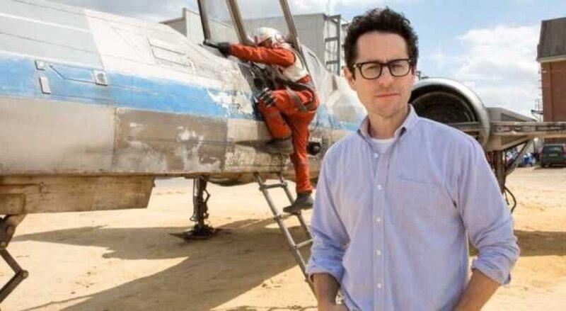 J.J. Abrams durante le riprese di Star Wars 9