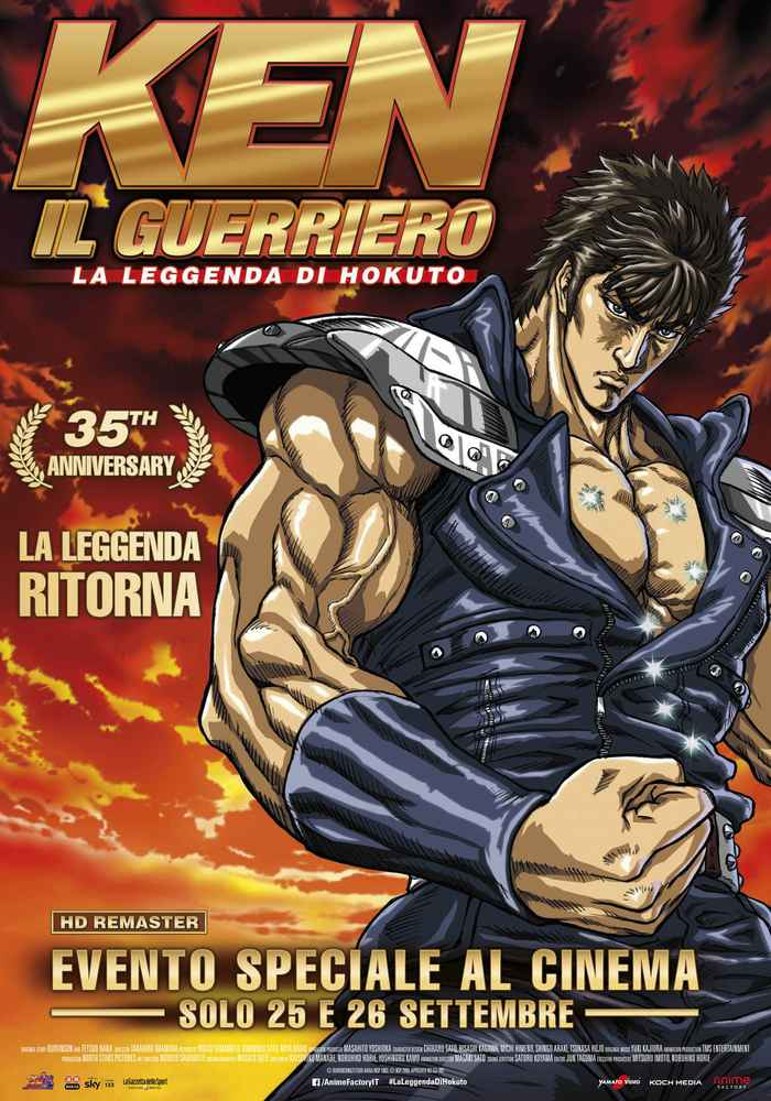 Ken il guerriero - La leggenda di Hokuto locandina