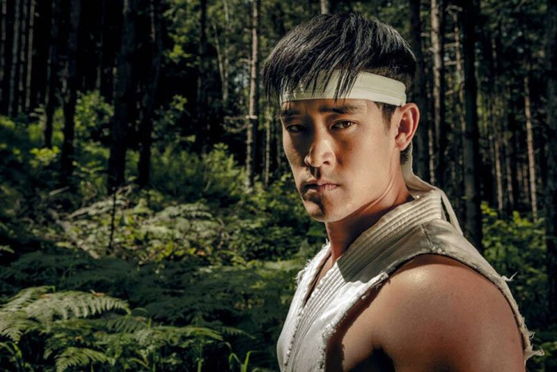 Mike Moh in Street Fighter