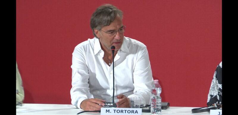 Venezia 75 - Max Tortora - conferenza stampa Sulla mia pelle
