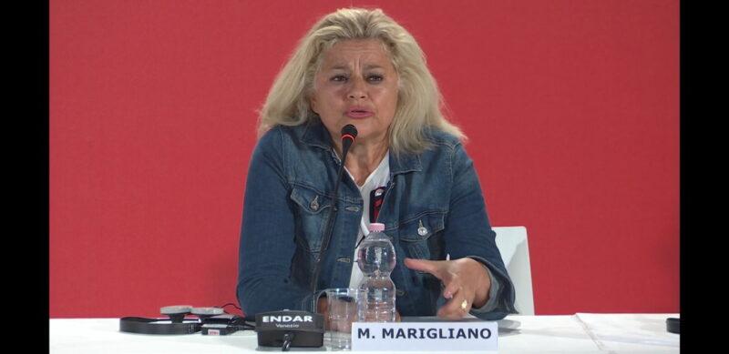 Venezia 75 - Milvia Marigliano - conferenza stampa Sulla mia pelle