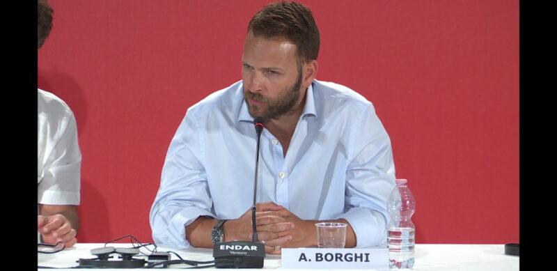 Venezia 75 - Alessandro Borghi - conferenza stampa Sulla mia pelle