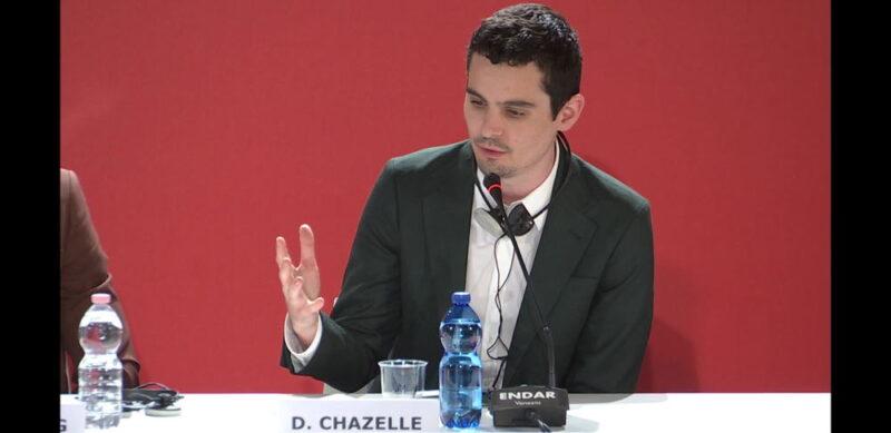 Venezia 75 - Damien Chazelle - conferenza stampa Il primo uomo
