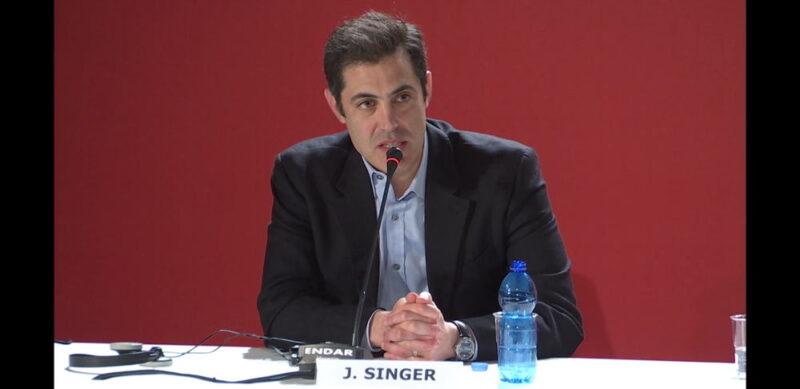 Venezia 75 - Josh Singer - conferenza stampa Il primo uomo