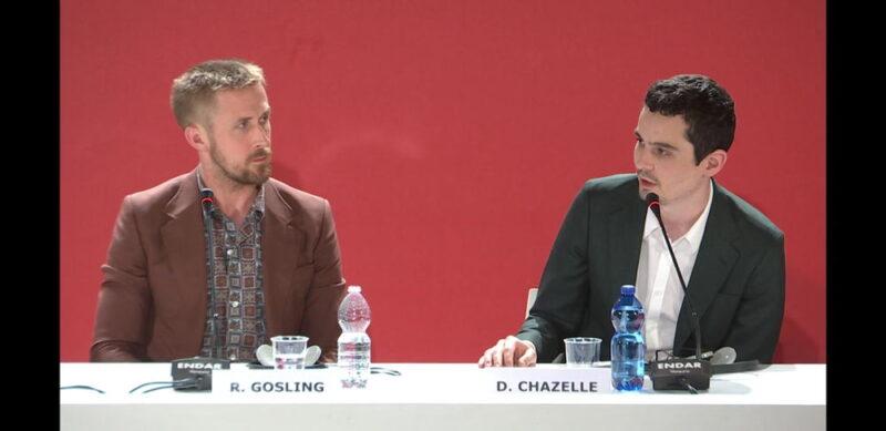 Venezia 75 - Ryan Gosling, Damien Chazelle - conferenza stampa Il primo uomo