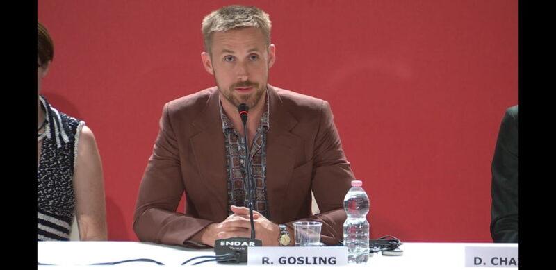 Venezia 75 - Ryan Gosling - conferenza stampa Il primo uomo