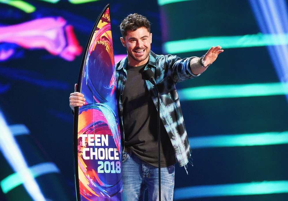 Zac Efron ai Teen Choice Awards 2018