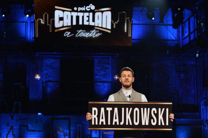 Alessandro Cattelan nella prima puntata di E poi c'è Cattelan