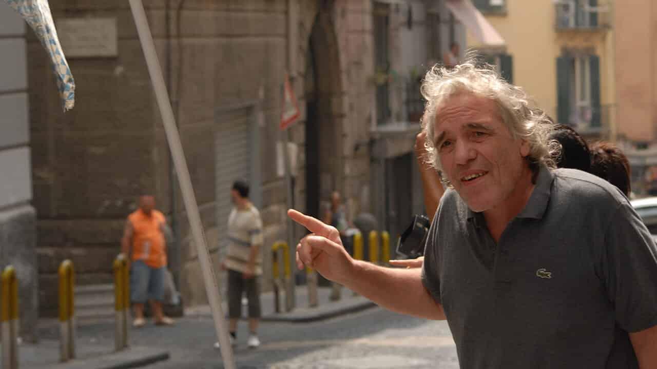 Abel Ferrara in una scena