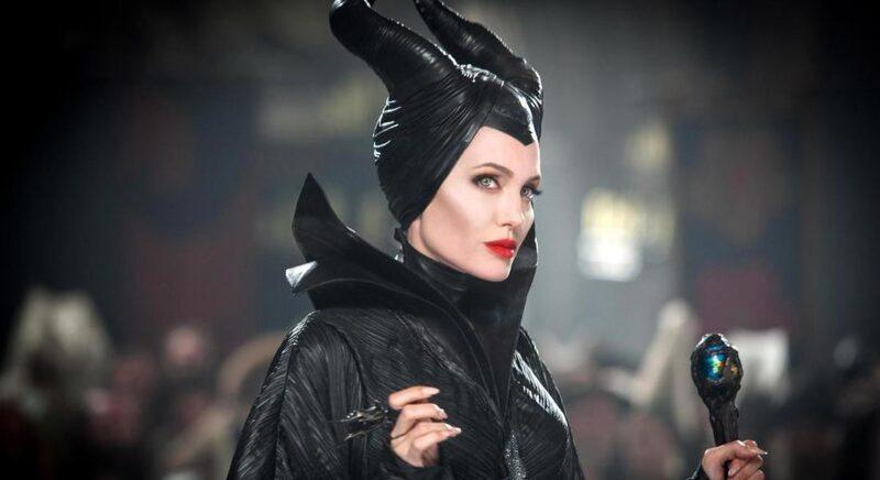 Angelina Jolie nei panni di Malefica nel film Disney Maleficent