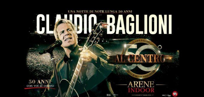 Baglioni all'Arena di Verona