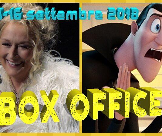 Box Office 17-09-2018 Mamma Mia Ci risiamo
