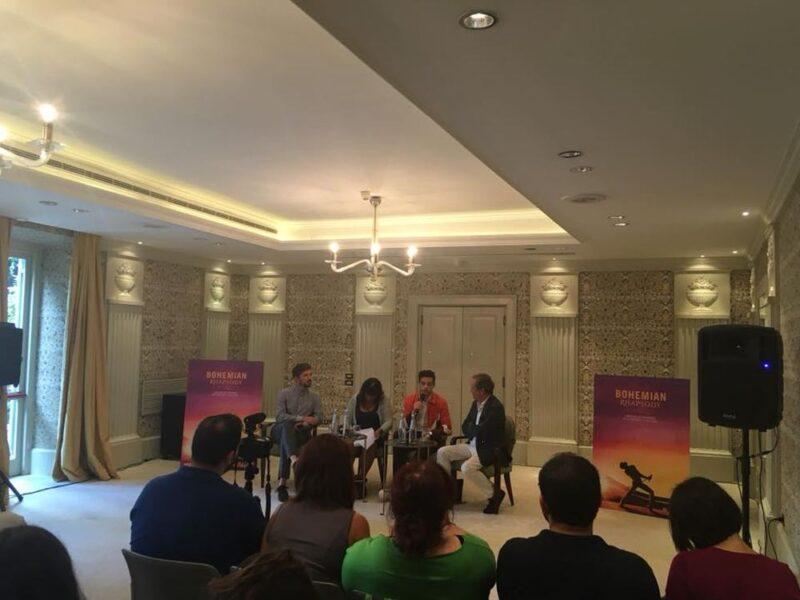 Conferenza stampa Bohemian Rhapsody