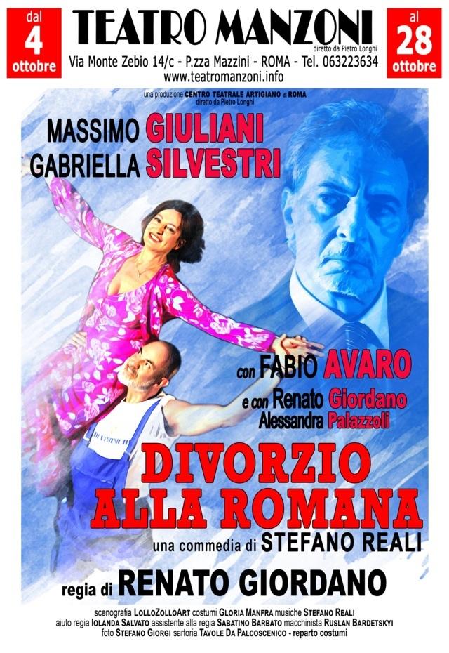 Divorzio alla romana locandina