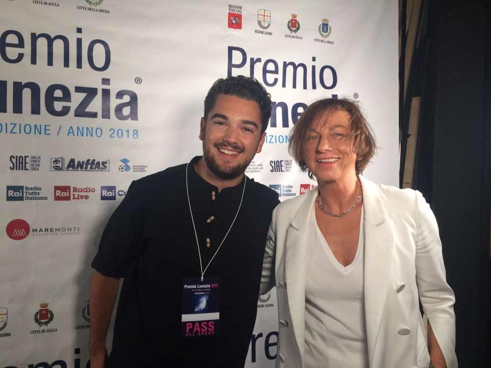 Gianna Nannini e Francesco Rainero